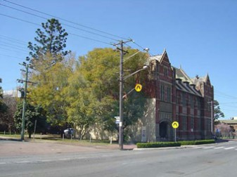 Above: Maitland Regional Art Gallery, photograph taken in 2003 after Stage 1 renovations had taken place.