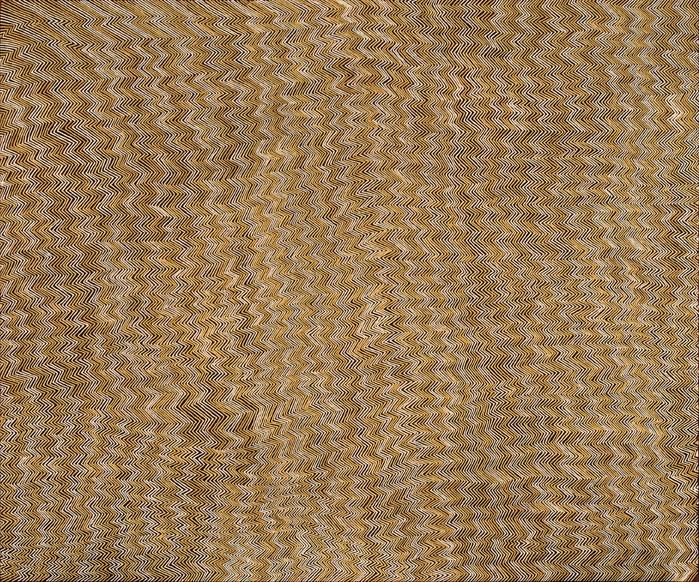 Doreen Reid Nakamarra Untitled, 2007. acrylic on linen, 153 x 183cm.