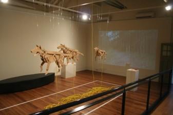 Jon Pryer, Off the Leash, 2009, Exhibition Space.