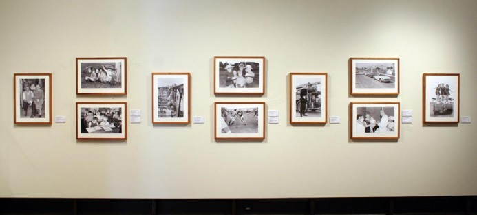 '45 Years, Picture that in Maitland;1965' installation shot, 2010.