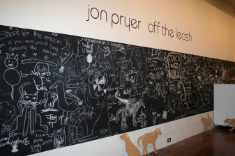 Jon Pryer, Off The Leash, 2009, project space