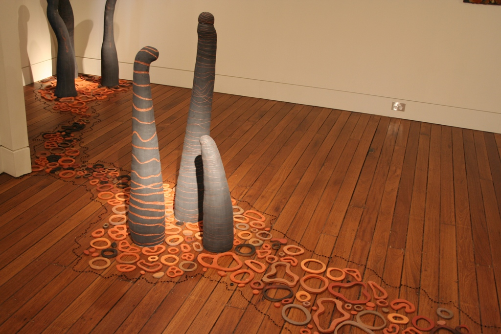 Tanya A Richards, Sediments of Haptic Play, 2010