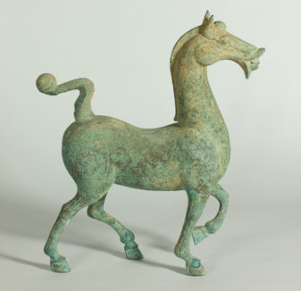 Unknown artist, [20th Century Han style horse], bronze, 43 x 13 x 38cm. Donated under the Australian Government's Cultural Gifts program 2015