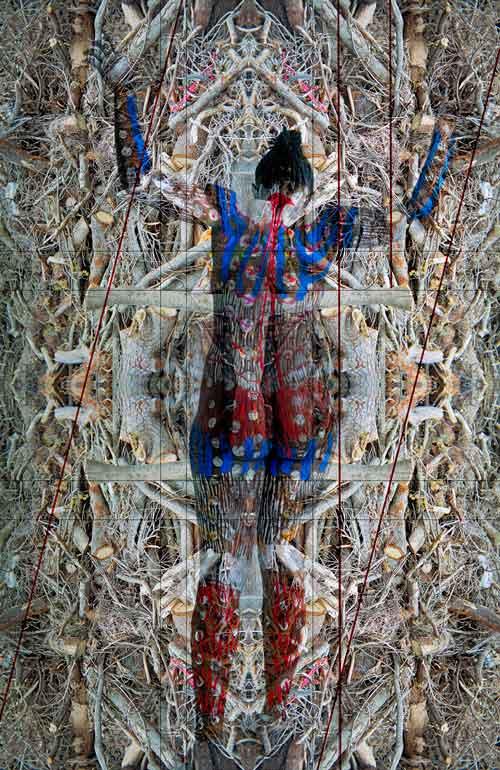 Michael B. Platt, Enough! (detail), 2006, pigment print on Hannemuhle bamboo paper, 88,3 x 61 cm