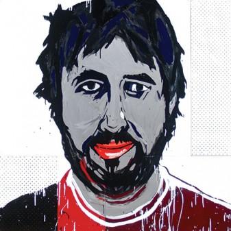 Jasper Knight,  Jasper Knight, 2009, Enamel, perspex and masonite on board,  150 x 150 cm