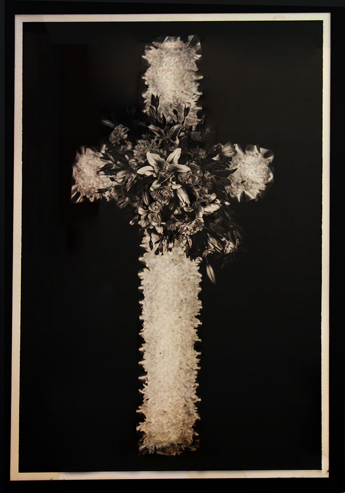 Jason Brooks, Cross, 1999, watercolour on paper, 244.6 x 153.4 cm, donated through the Australian Government's Cultural Gifts Program by Serioso Pty Limited as trustee for GGHA Investment Trust 2012