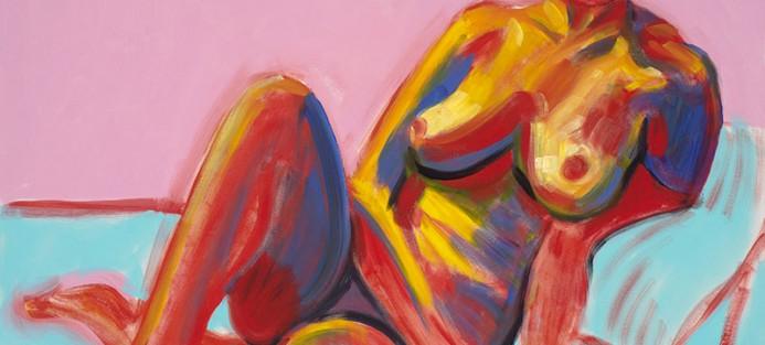 Dicki Watkins, Untitled, 1996 - 1998, acrylic on canvas, 121 x 91.5 cm