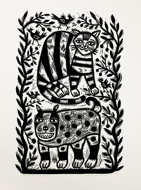 November Calendar Art For Kids : Barbara hanrahan linocuts from the mrag collection