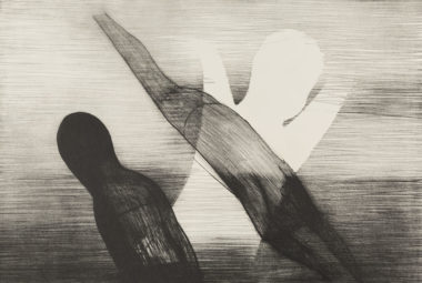 Charles Blackman, Angles of Time (detail), Circa 1966, lithograph on paper, 56.8 x 78.5cm, Donated by Charles Blackman through the Australian Government's Cultural Gifts Program, 2008