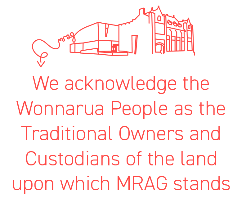 We acknowledge the Wonnarua people as the traditional owners and custodians of the land upon which MRAG stands